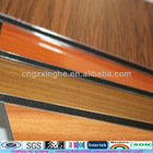 aluminum wood effect wall cladding wood effect paint