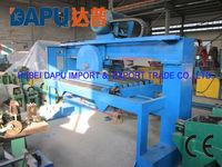 Steel grating cutting saw machine