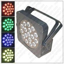 FLAT PAR TRI18 Low-profile LED PAR Can Effects Light
