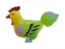 Hot sale kids plastic promotional wind up chicken toy