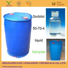 high quality Sorbitol 50-70-4 transparent liquid