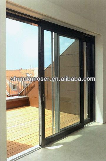 Wooden Sliding Door Detail 360 x 547