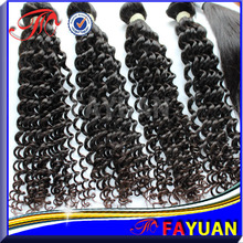 Top quality virgin mongolian kinky curl 27 piece hair weave