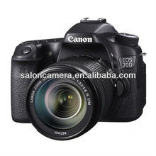 Canon EOS 70D kit with lens 18-55mm