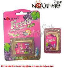 Fresh mint paper candy