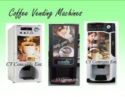 Coffee vending machine