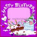 صور كعكة عيد ميلاد إطار الصورة