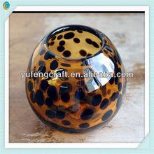 new fashion glass candlestick
