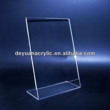 Simple Design/Custom Acrylic Menu Holder