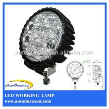 HOT 27W 12V 24V Vehicle Light Epistar Cree LED Work Light, Lights for Heavy Duty LWL-27R