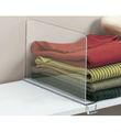 Venda quente acrílico prateleira divisor/personalizado acrílico prateleira divisor de fabricante