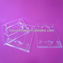 hot sale transparent plastic money packaging case