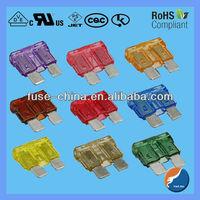 Standard type car fuse(1A,2A,5A,7.5A,10A,15A,20A,25A,30A,35A,40A)