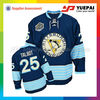 100% polyester mesh imprinted Hockey Jersey