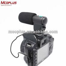 MCOPLUS MIC-109 28cm hidden camera microphone for Camera Nikon 7D/5DII/550D/60D Sony CX550E