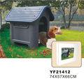 de luxo para animais de estimação casa de plástico
