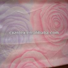 satin rosette fabric