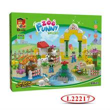 Happy Farm Plastic Big Bricks Block Toy L22217