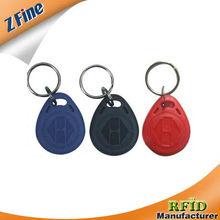 ID key tag/TK4100 RFID keytag/125Khz RFID keytag made in ShenZhen