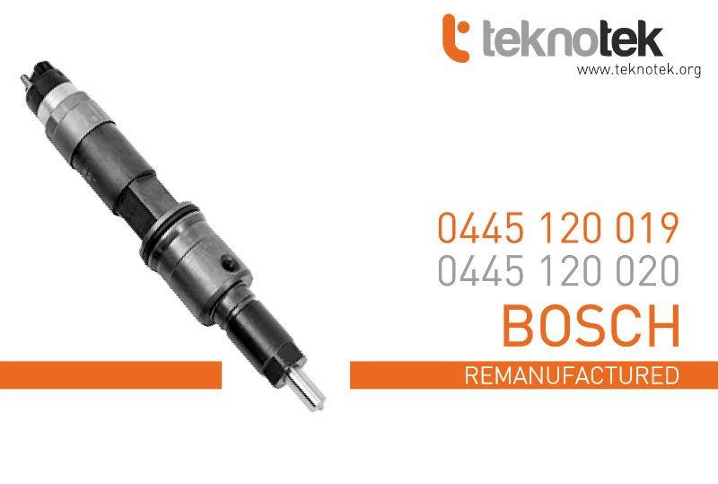 Renault - inyector 0445120019 (0445120020) ( bosch )
