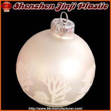 Fashion promotion glass christmas balls names