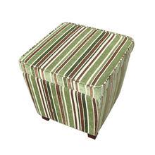 Fashion Microfiber Cube Storage Ottoman Essential for Room