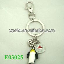 2013 promotion key chain animal key chains penguin