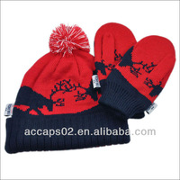 cartoon adult knitting hat