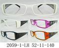 de alta calidad baratos gafas de colores brillantes de plástico gafas de lectura