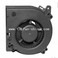 dc brushless silent sirocco fan blower 120*32mm 12/24v