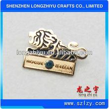 Lion Lapel Pin/Casting Animal Lion Pin Badge/Cut Collar Pins Badge