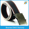 Men's Fashion Adjustable Cotton Canvas Belt with Slider Buckle