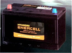 Hyundai Enercell - Sealed Maintenance Free Battery - Made in Korea