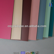 corrugated aluminum composite wall panel