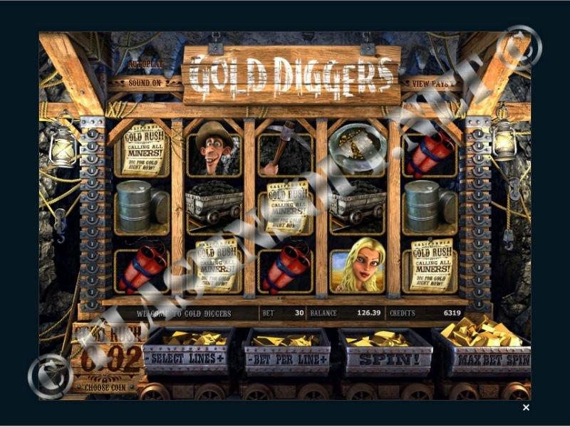 Игровой автомат Gold Diggers (слот Золотоискатели