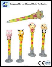Promotional cartoon ballpen,cute cartoon animal ballpen,gift cartoon ballpen