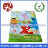 Top zipper resealable food grade plastic bags