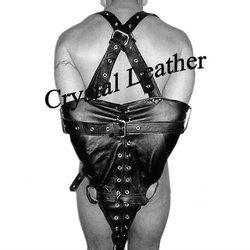 leather bondage armbinder