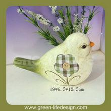 Cutely polyresin birds home ornament