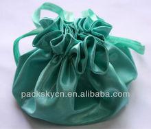 100% Silk Satin Pouch
