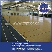 Portable Pvc indoor basketball&volleyball sports flooring