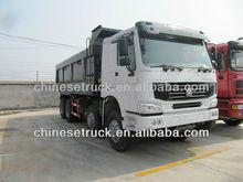 howo 8x4 white colour dump truck sale in Philippine