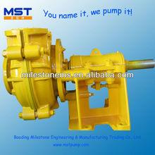 Hydraulic Slurry centrifugal water pumps types