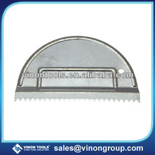 Basic Metal Adhesive Spreader, High Quality Steel Spreader, Grout Spreader, Metal Scraper