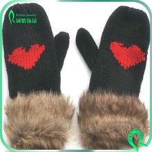 New Design Fashion Winter Gloves For Girls Warm Gloves On Hot Sale