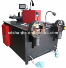 three-stationn aluminium punching cutting machine copper processing machine