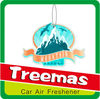 Hanging paper car air freshener/hanging car fragrance Y131