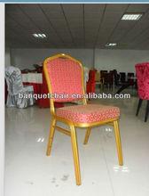 Popular Steel Frame Banquet Hall Chair /looks like aluminum tube FD-691