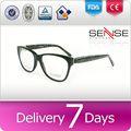 moitié monture de lunettes lunettes correctives flexon cadres