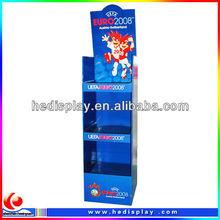 Floor Paperboard Promotion Display For Disney Store/Store Display